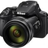 Цифровой фотоаппарат NIKON Coolpix P900 чёрный, Екатеринбург
