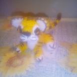 Вязаная игрушка ручной работы тигр, Екатеринбург