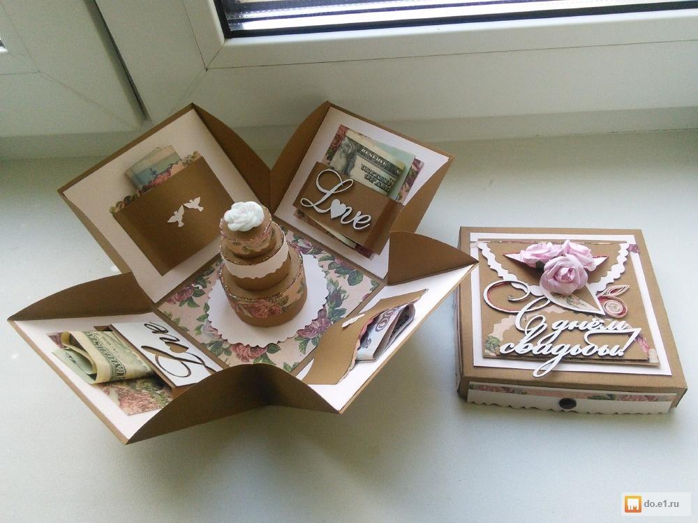 На свадьбу коробка под деньги