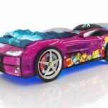 Кровать-машина Kiddy violet, Екатеринбург