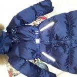 пальто пуховик для девочки Nels, рост 128 см, Екатеринбург