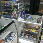 Продается торговое оборудование стеллажи, прилавок, касса, Екатеринбург