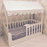 Детская кровать-домик белый (Мир мебели), Екатеринбург