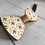 Деревянная галстук-бабочка Air, Екатеринбург