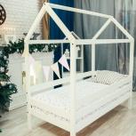 Детская кровать-домик из массива, Екатеринбург