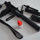 Пневматический пистолет-пулемет Gletcher UZM, Екатеринбург