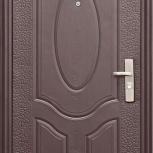 Металлическая дверь Е40М (857), Китай, 860*2050, а, Екатеринбург