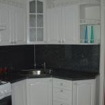 Кухня на заказ угловая Белая (Финист), Екатеринбург