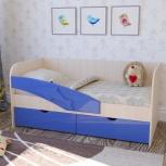 Детская кровать Дельфин Синий (Миф), Екатеринбург