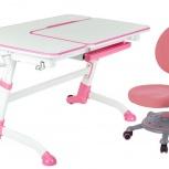 Комплект для школьника FunDesk Amare Pink + кресло SST1 Pink, Екатеринбург