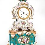 Французские старинные часы из фарфора   19 век., Екатеринбург