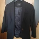 Пиджак черный Lime, размер XS, Екатеринбург