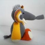 Вязаная игрушка Слон, Екатеринбург