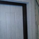 Откосы на сейф-двери. Замена мдф панели на двери ., Екатеринбург