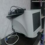 Компьютерный монитор + клавиатура б/у, Екатеринбург