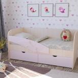 Детская кровать Дельфин розовый (Миф), Екатеринбург
