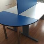 Стол + тумбочка на 4 ящика  для офиса, Екатеринбург