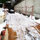 Выносная площадка для кладки банки рохля стойки, Екатеринбург