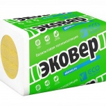 Базальтовый утеплитель Эковер Лайт 30 1000х600х50, Екатеринбург