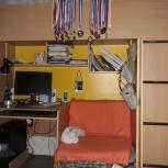 Уголок школьника с кроватью-чердаком 2 метра, Екатеринбург