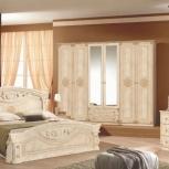 Модульная спальня Рома беж Комплект с 6-ти дверным шкафом (Авт), Екатеринбург