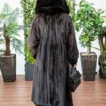 шуба норковая с капюшоном элитный бренд BlackGlama, Екатеринбург