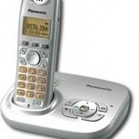 Радиотелефон panasonic KX-TG7321RUS Silver, Екатеринбург
