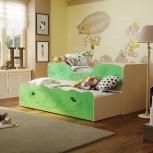Кровать двухъярусная с выкатным спальным местом Омега-11 (Фант), Екатеринбург