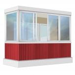 Балкон Provedal Алюминиевый 3200 Г-образное, Екатеринбург