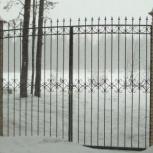 Кованные распашные ворота от производителя по низкой цене, Екатеринбург