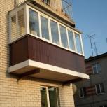 Балконы Veka с остеклением в Екатеринбурге, Екатеринбург