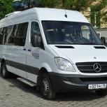 Аренда микроавтобуса мерседес спринтер на 20 мест с водителем, Екатеринбург