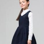 Школьное платье-колокол Silver Spoon, рост 134см, Екатеринбург