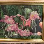 Картина бисером Фламинго, Екатеринбург