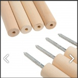 Требуются палки-черенки береза шлифованная d-20 мм, длина 1800,2000мм, Екатеринбург