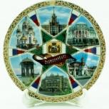 Сувенирные тарелки и кружки с видом Екатеринбурга, Екатеринбург
