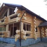 Шлифовка деревянного дома из бруса и бревна, Екатеринбург