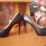 Продам туфли беж, черные 41 размер, Екатеринбург