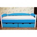 Кровать детская maкси из массива сосны 80х160, Екатеринбург