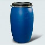 Бочка Тара пластиковая с крышкой на обруч 127 литр, Екатеринбург