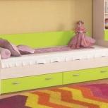 Кровать с выкатными ящиками Ника 424  (ник-м), Екатеринбург