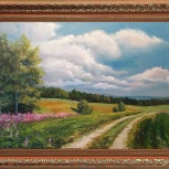 Картина масляными красками на холсте, Екатеринбург