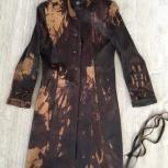 Плащ кожаный, размер 42-44, Екатеринбург