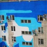 Покраска фасада, дома. Покрасочные работы, Екатеринбург