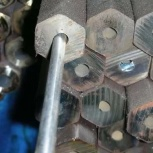Шестигранник буровой 25 отверстие 7,2мм сталь 55с2, ац40х2аф, 28хгн3м, Екатеринбург