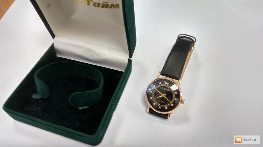 Продам золотые часы МакТайм фото, Цена - 29000.00 руб., Екатеринбург ... 7db81d080d8