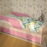 Кроха-2, Детская кровать 80*160 см, Розовая, Екатеринбург