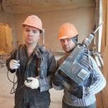 Демонтаж,снос,стен,резка,ГКЛ,кирпич,деревянный пол(все виды демонтажа), Екатеринбург