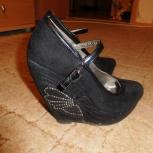 Продам туфли  в хорошем состоянии замша 36 размер, Екатеринбург