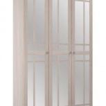 Шкаф ШР-3 комплект фасад №2 с зеркалом Ривьера  (ВМ), Екатеринбург